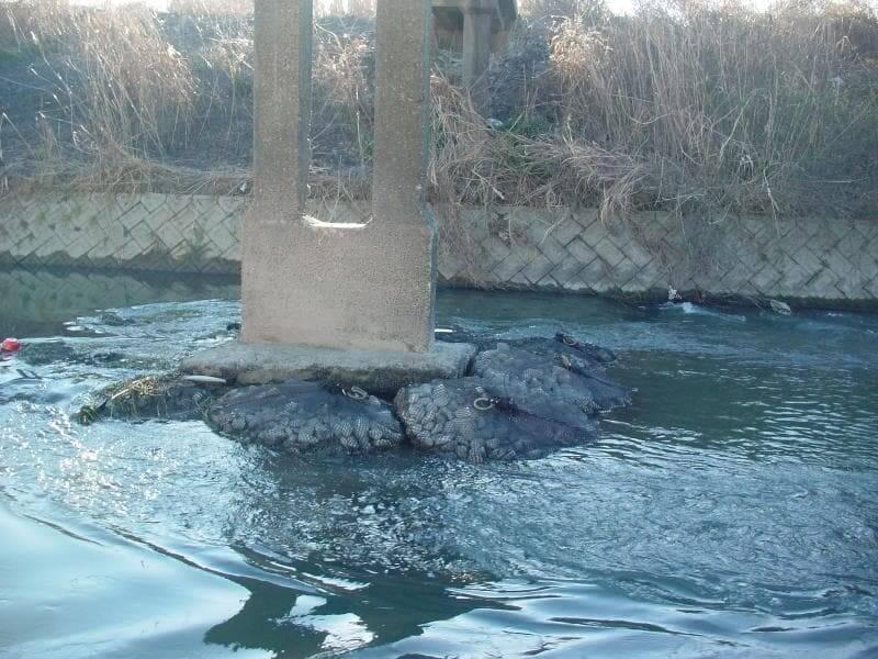 bridge scour prevention