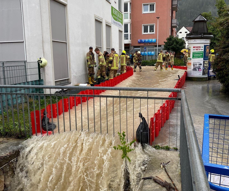 Urban Flow Flood Concept, Boxwall