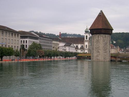 Floods in Luzern.