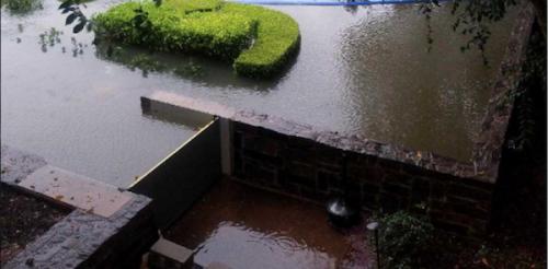 During Hurricane Harvey FloodBreak barrier prevented flooding of property.
