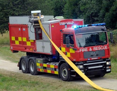 """<p>Hytrans HS150 fire brigade set with Hytrans HRU 200 recovering 6"""" / 150mm hose.</p>"""