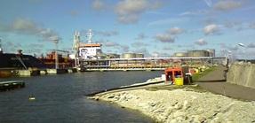 Hytrans submersible pump HS 450 at work in Estonia.