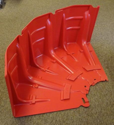 90° corner is made using 3 inner corner units.
