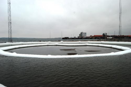 cofferdam, water reservoir.