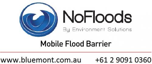 NoFloods, flood barrier, cofferdam, portable flood barrier, water dam, flood prevention, flood resilience, temporary reservoir, water storage.