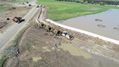coffer dam for Zenviron, Australia