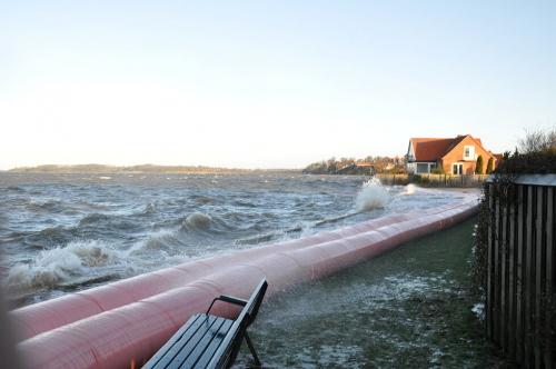 NoFloods mobile flood barrier