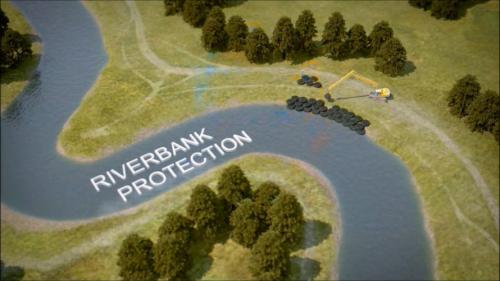 Kyowa embankment protection