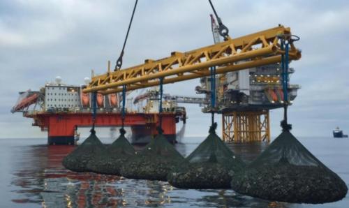 Kyowa off shore multiple bag deploying spreader