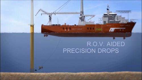 Rock Bags - ROV aided precision drops